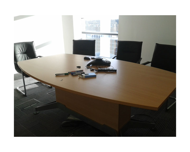 Beech Meeting Room Table - Edinburgh Recycle | Edinburgh Recycle
