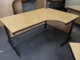 Crescent Office Desk